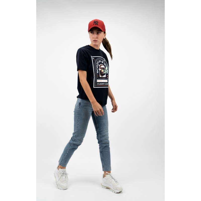RELAXED FIT CREW NECK TEE
