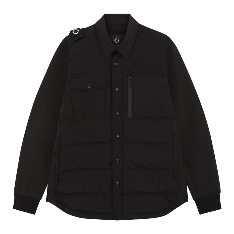 SOFTSHELL DOWN QUILT OVERSHIRT
